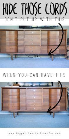 The 25+ best Hiding tv wires ideas on Pinterest | Hide tv cords ...