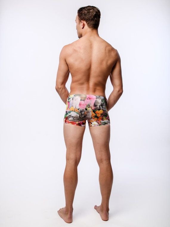 These kitten swim trunks ($46): | 25 Stylishly Clever Ways To Cover Your Body In Cats
