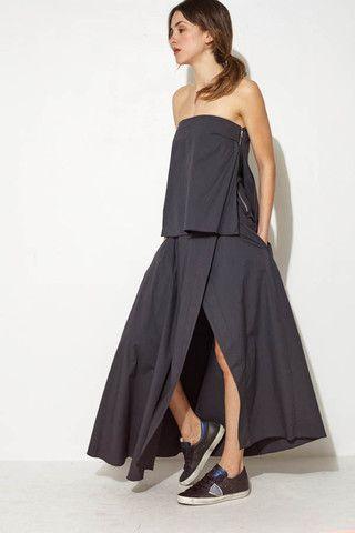 Layered Panel Dress by Ter et Bantine   shopheist.com