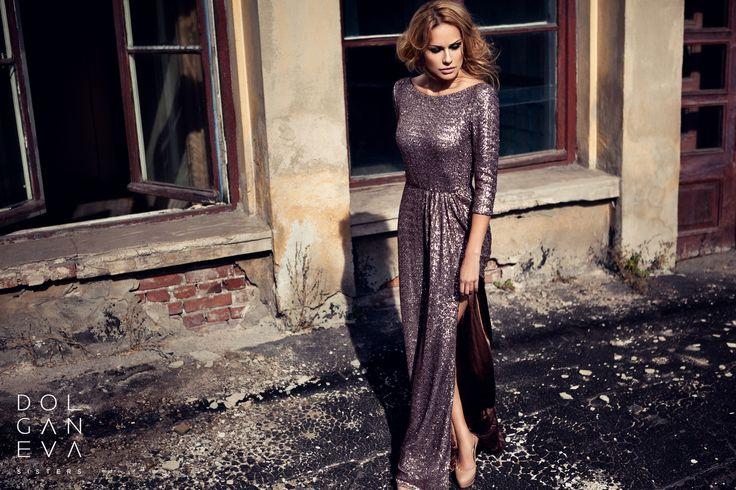 Платье / пайеточное полотно. Dress /  canvas. Girl in evening dress