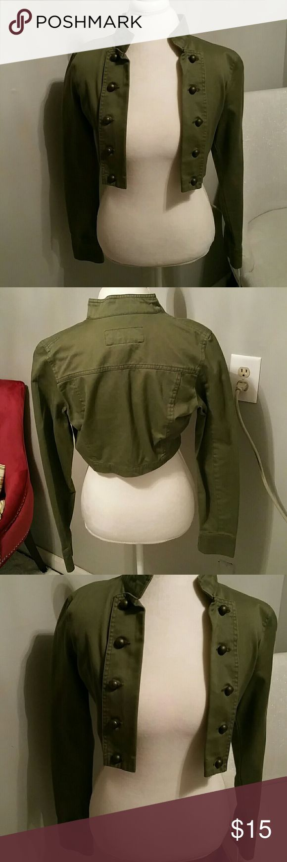 Marching band  inspired jacket in olive green Marching band inspired jacket in olive green Jackets & Coats