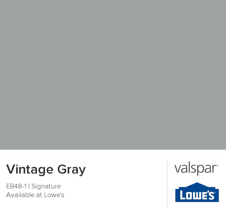 Vintage Gray from Valspar