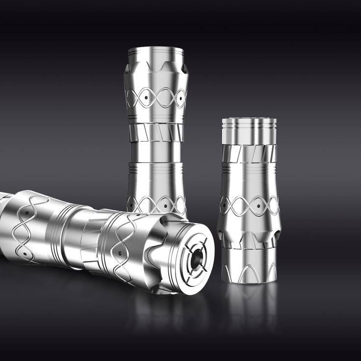 our web:http://www.dovpoecig.com/ 100% mechanical design and CNC machined. Switch on the bottom side, easy to press.
