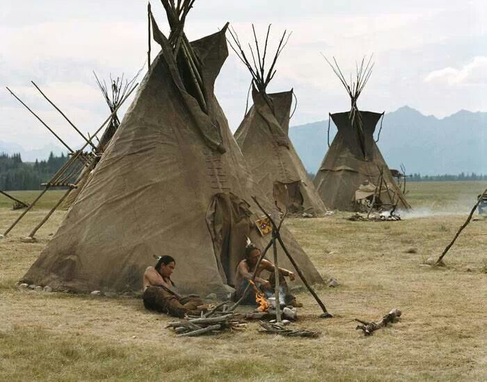 Build real Native American- Teepees hidden in the back of your backyard with pine trees hiding the area. & 140 best Native American homes images on Pinterest | Native ...