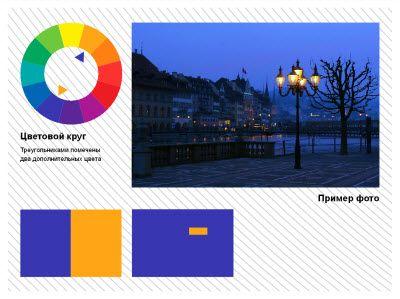Теория цвета для фотографов: контраст по площади цветовых пятен