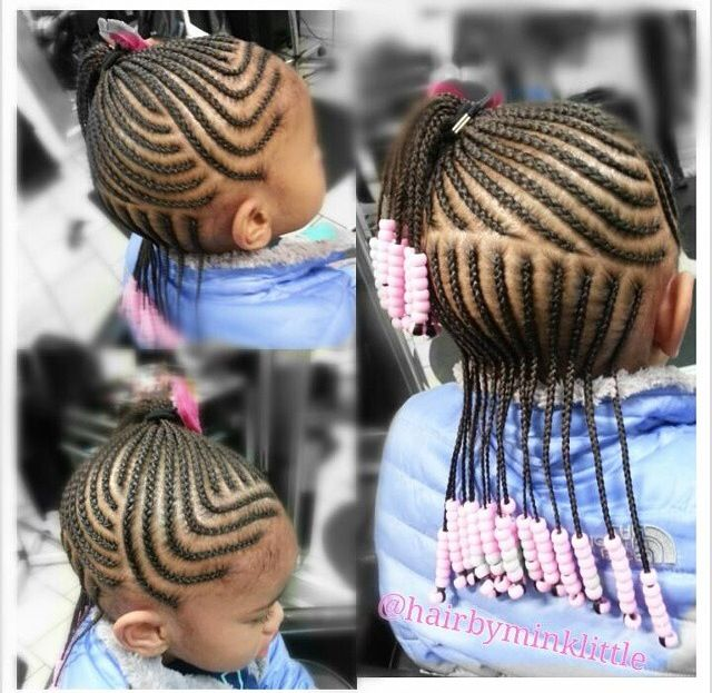 Braided Hairstyles For Little Girls 57 Best Baby Girl's Hair Images On Pinterest  Children Hairstyles