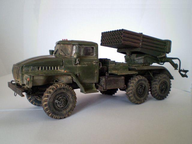 BM-21 Grad (Ural-4320) Chechnya
