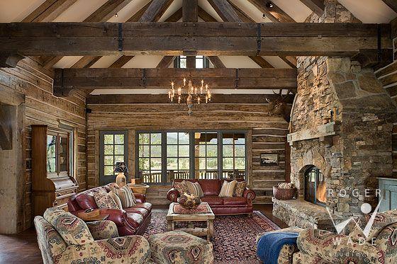 roger wade studio interior design photography of rustic ...