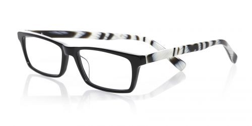 eyebobs new 'Number Cruncher' reader in black/horn.