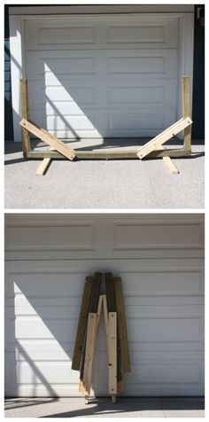 Collapsable Hammock Stand #woodworking #outdoors #summer