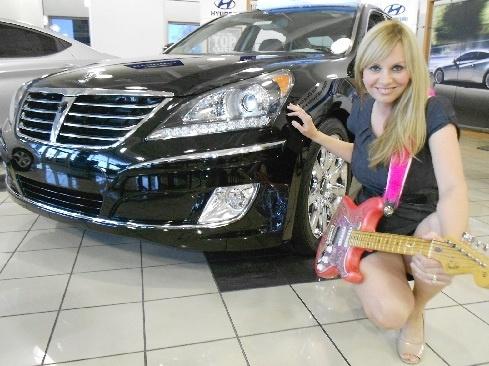 Planet Hyundai coordinator shares love of cars and guitars