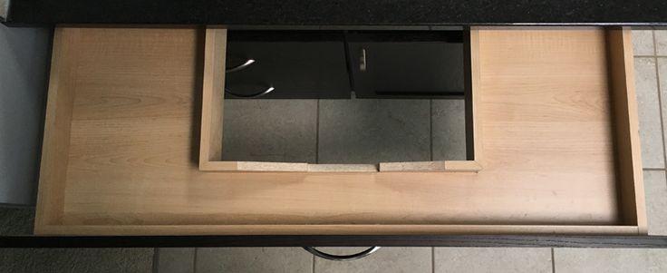 Sink Surround Drawer Bathroom Vanity | False Front Drawer | U-Shaped Drawer | C-Shaped Drawer | Vanity | Bathroom Drawer | Drawer