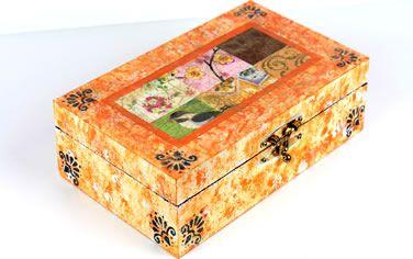 11 Modelos Diferentes de Caixas Decoradas Passo a Passo — Cursos | Revista Artesanato