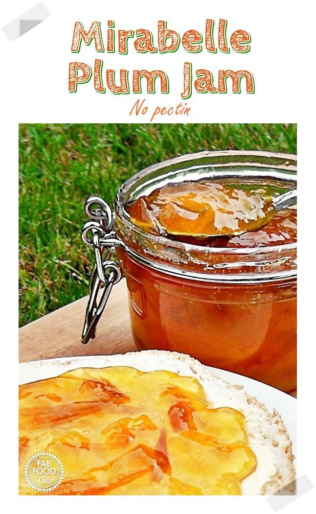 Mirabelle Plum Jam – this is a fabulous added pectin recipe. With a taste simila…