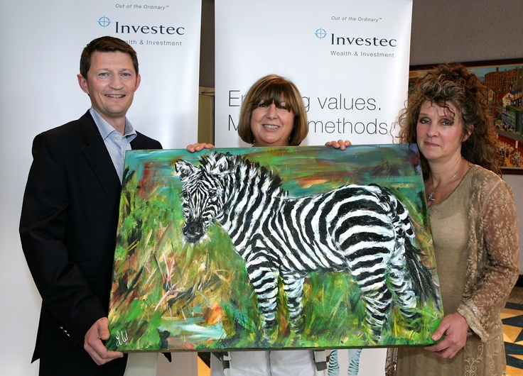Successful art show event organised for client in financial sector.