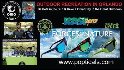 Outdoor Recreation In Orlando: Popticals Pop-Out Sunglasses at 2017 ICAST