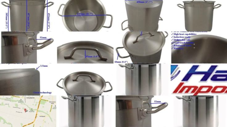71L Stainless Steel Pot