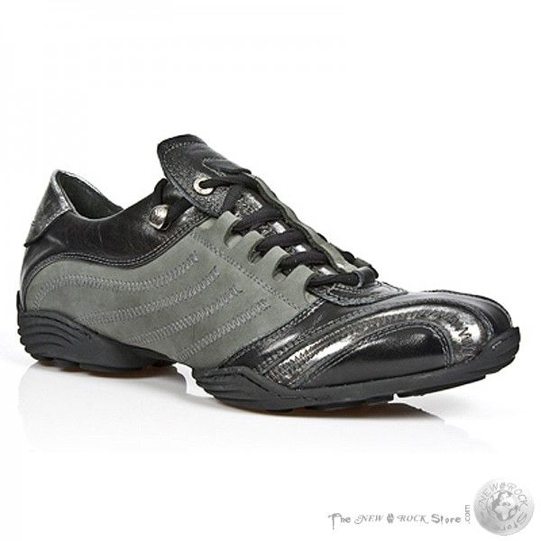 M 8147 S1, Mens Baskets Bas-top Nouveau Rock