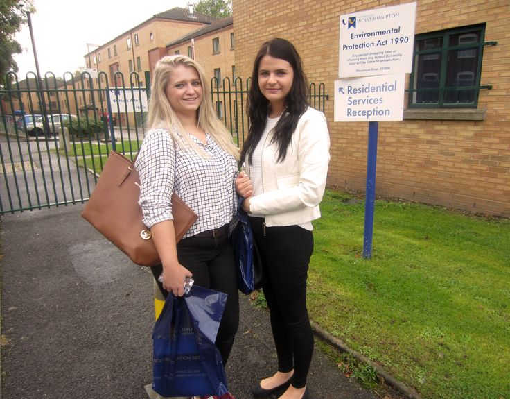 """Wolverhampton is a lot more inviting to BTEC students than other Unis"" Rosie & Jessie"
