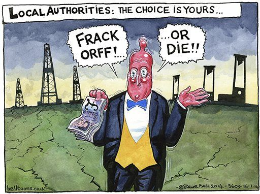 14 January 2014 - Fracking in England