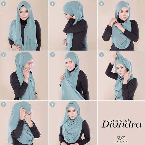 Tutoriels Hijab Simples Et Faciles 8