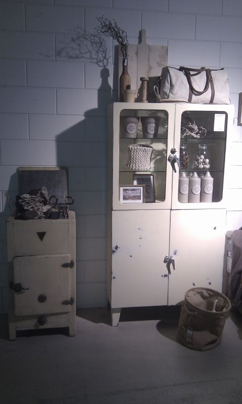 Best Of The Past  Industrial Vintage Pale Winter Setting. This One Of A  Kind · Vintage MedizinischeKühlschrankIndustriellCabinet