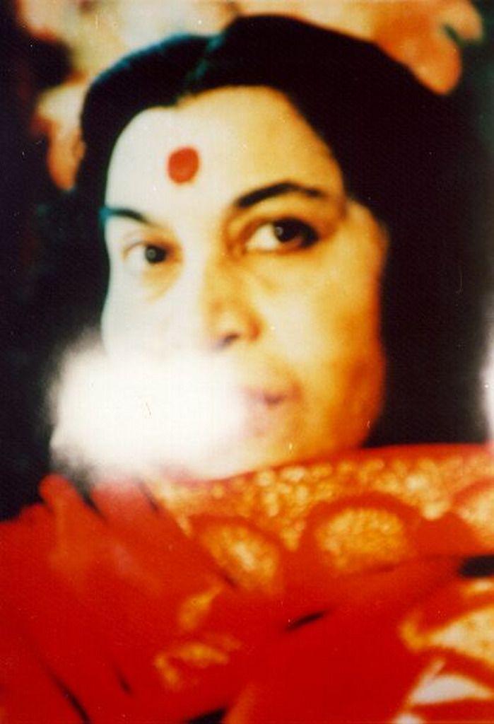 Shri Mataji -Miracle Photo