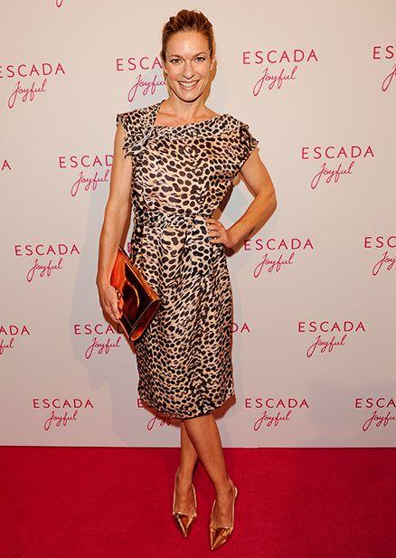 Actress Lisa Martinek attending the ESCADA Joyful Event at the Flagship Store München, 2014
