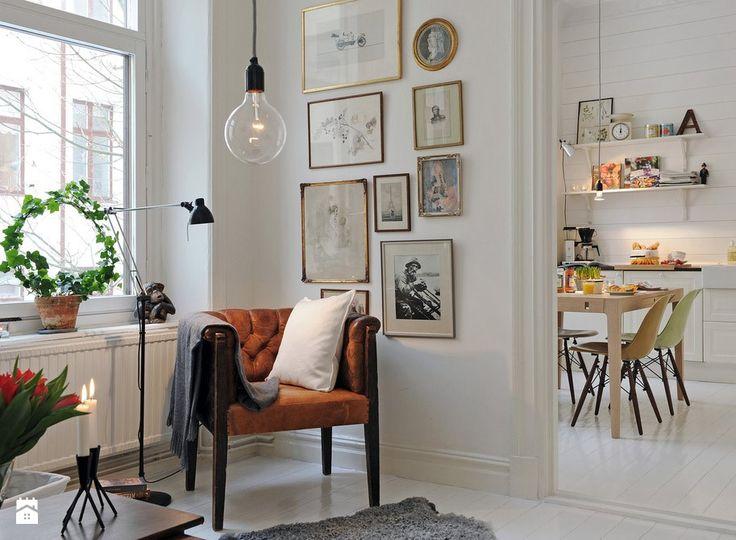 Salon styl Skandynawski - zdjęcie od Homebook.pl - Salon - Styl Skandynawski - Homebook.pl