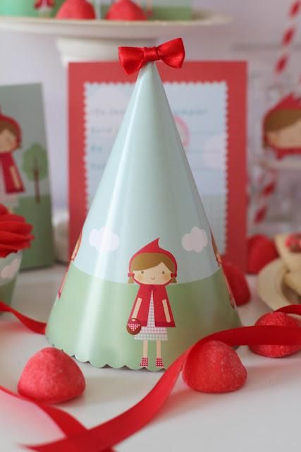 Little Red Riding Hood Girl Fairytale Storybook Birthday Party