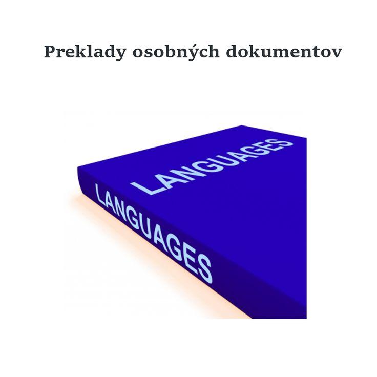 Som rada, že o odborné preklady mojich dokumentov sa postarali títo špecialisti: http://www.lexika.sk/sluzby/preklady/odborne-preklady.php :)