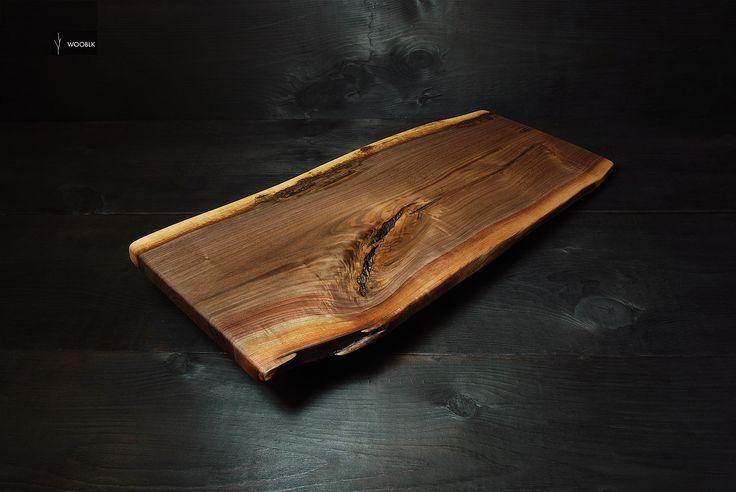 Cheese board / charcuterie board - Black Walnut  - www.wooblk.com