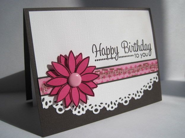 Musical Birthday by lisaadd - Cards and Paper Crafts at Splitcoaststampers