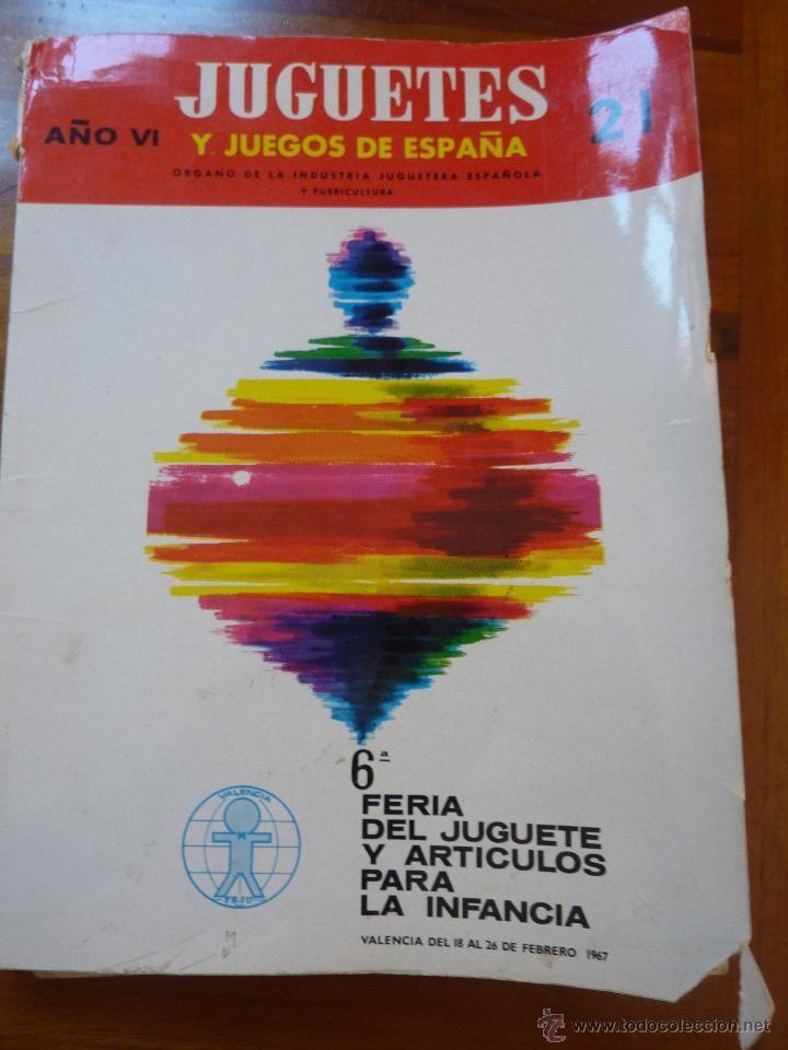 Precioso catalogo Juguetes y juegos de españa. feria.
