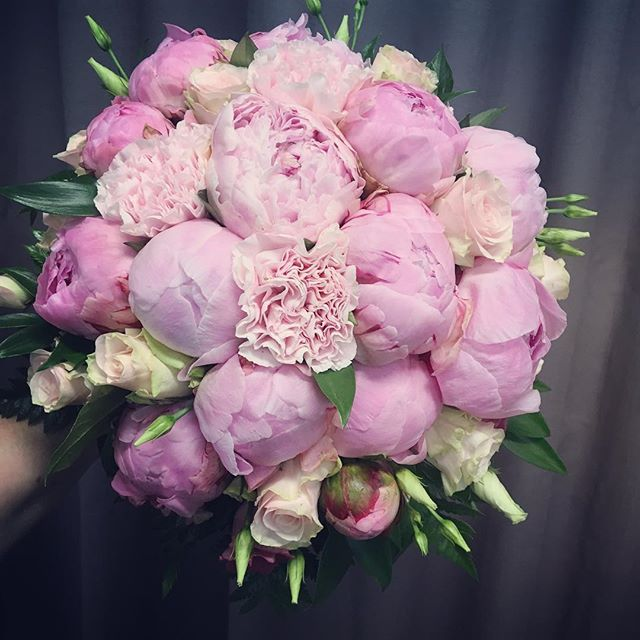 #weddingbouquet #paeonia #pink