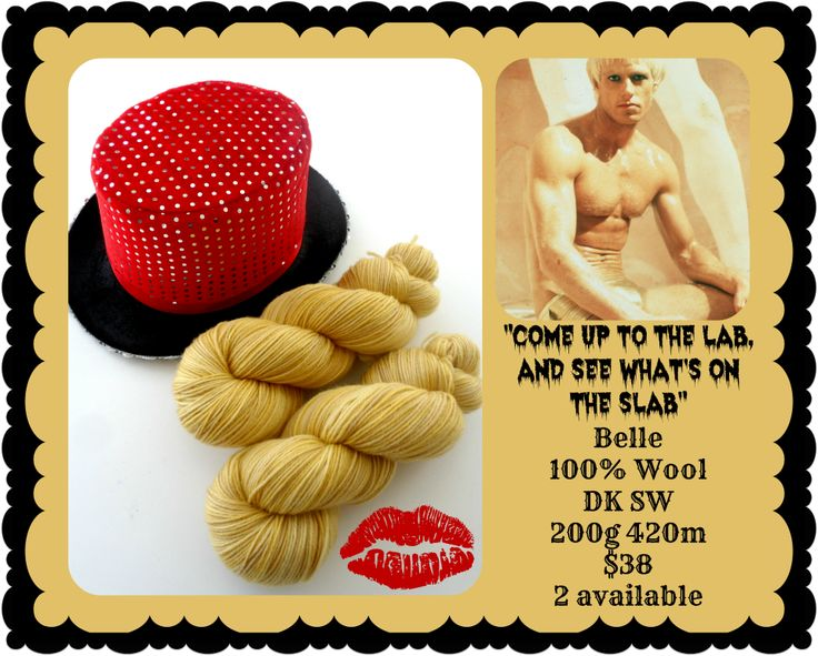 Come up to the Lab - Rocky Horror Picture Show | Red Riding Hood Yarn