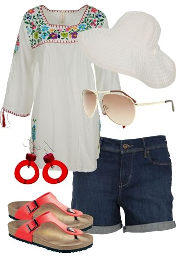 Pure Freedom Outfit includes Levis, Birkenstock, and Nest Picks at Birdsnest Women's Clothing