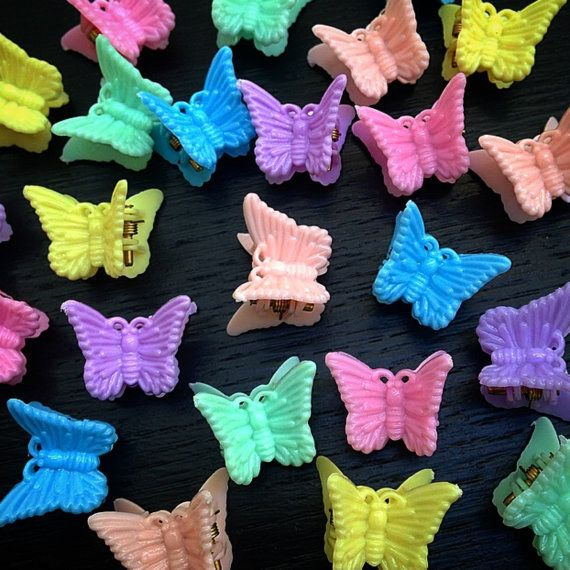These butterfly hair clips: | 31 Products That Will Transport You Back To The '90s