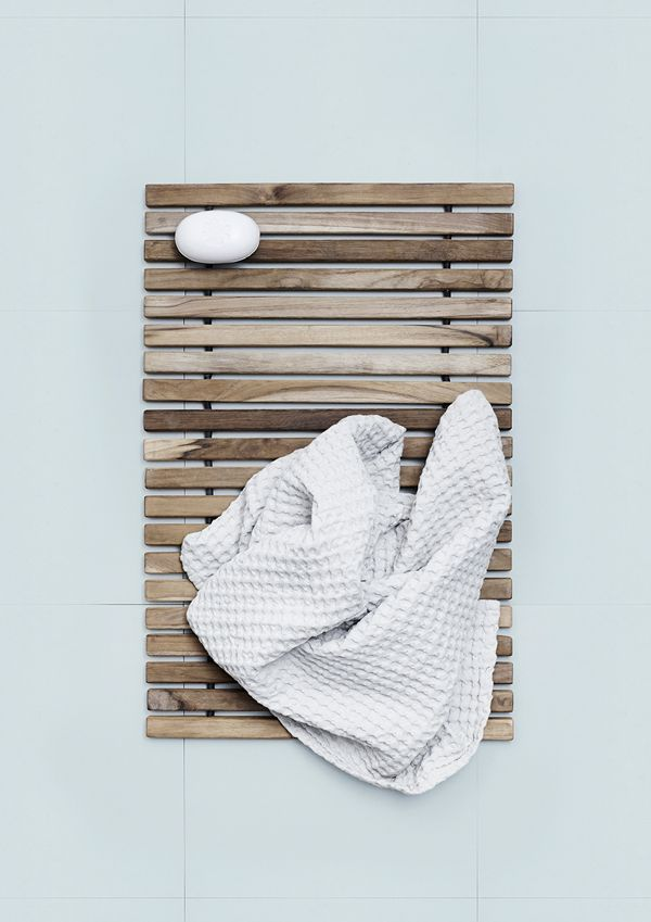 Add a natural touch to your bathroom.