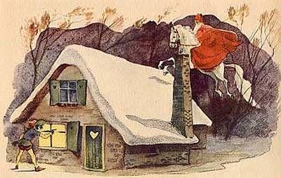 Sinterklaas, 1930.