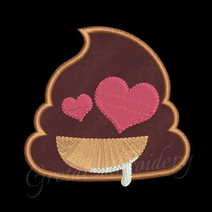 Free Poop emoji embroidery designs,digital download,emoji embroidery,poop