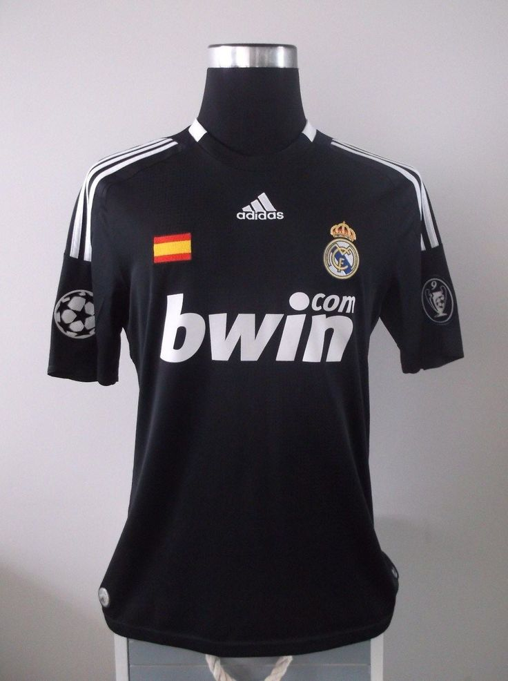 Authentic real madrid third football shirt jersey 2008