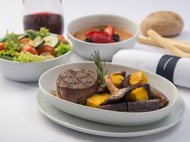 Drizzle some Chilean extra virgin olive oil on your salad, but save room for the beef when flying LAN Airlines. LAN proudly serves some of the best beef in South America, with sides that highlight the freshest vegetables of the seasons.