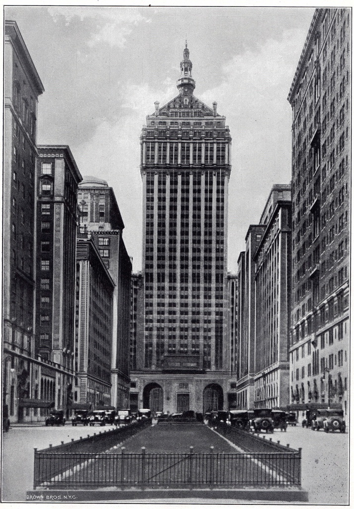 Grand Central Station Tower Park Avenue Before The Panam