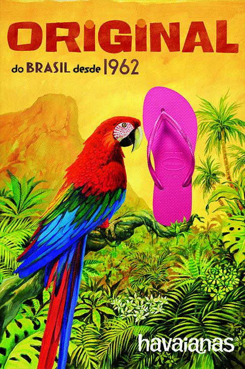 Discover the Brazil of the 60s!‪#‎TheOriginal‬ ‪#‎HavaianasHistory‬