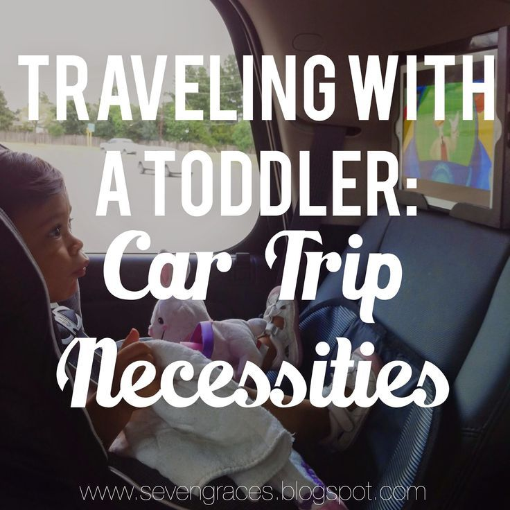 Traveling with a Toddler: Car Trip Necessities! Keep in mind for long summer car trips!
