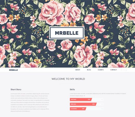 Mr Belle a Singlepage Multipurpose Flat Bootstrap Responsive web template. http://w3layouts.com/preview/?l=/mr-belle-singlepage-multipurpose-flat-bootstrap-responsive-web-template/