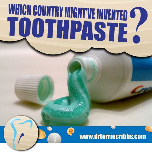 We wouldn't be making much of our Pinterest page if we didn't host a little trivia game every now and then! So here's today's question: which country invented toothpaste? Bonus points if you can tell us who/how it originated.   #PearlyWhites #Sparkle #Knoxville