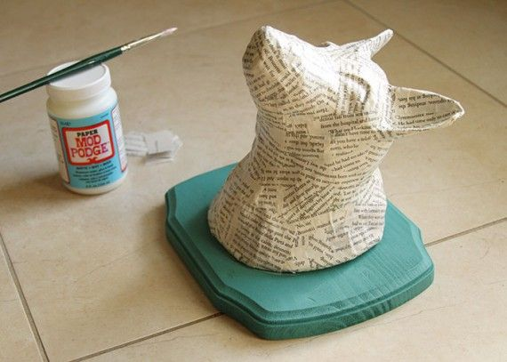 Make a paper mache imaginary animal with Molly, Madden, Maggie and Tommy? Imagine the awesomeness that will insue.
