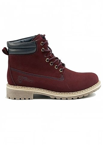 LACE UP BOOT Price:R 725.00 Colour:Burgandy TRUWORTHS